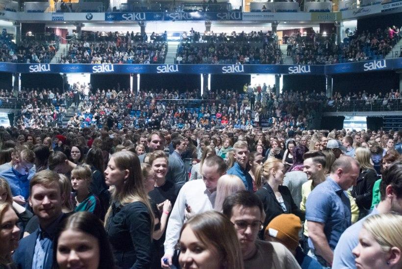 GALERII | Ewert ja draakonid meelitasid oma kontserdile tuhandeid muusikasõpru