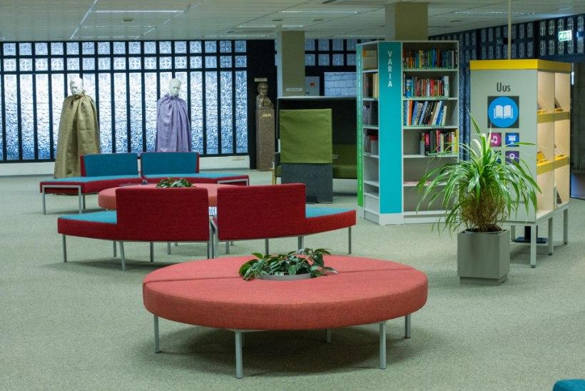 Rahvusraamatukogu uuendused: lasteala ja suhtlusala jutuajamiseks