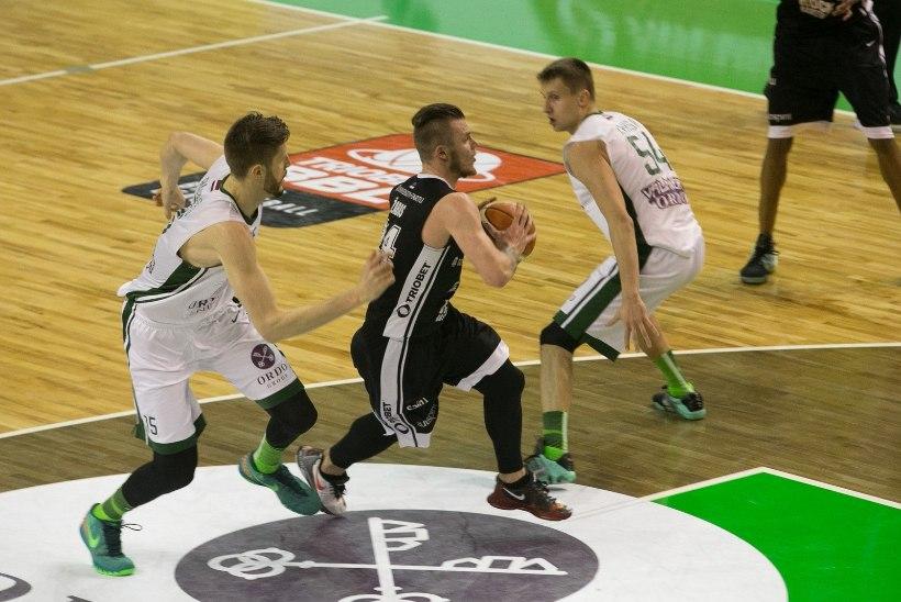 GALERII   TÜ/Rock alistas Balti liiga poolfinaalis Valmiera ning pääses esimese Eesti klubina finaali