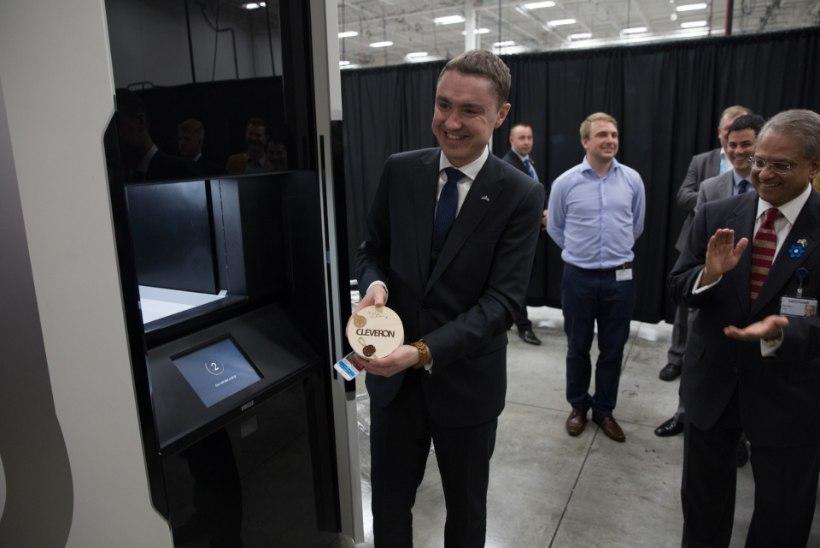 PILTUUDIS | Peaminister osales Cleveroni uuendusliku pakiroboti esitlusel USAs