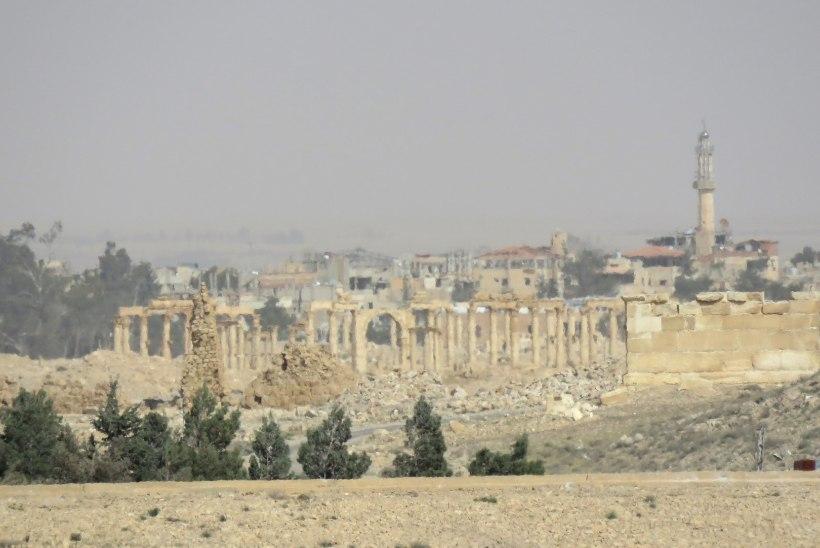 FOTOD   Maailmapärand Palmyra pärast Islamiriigi hävitustööd