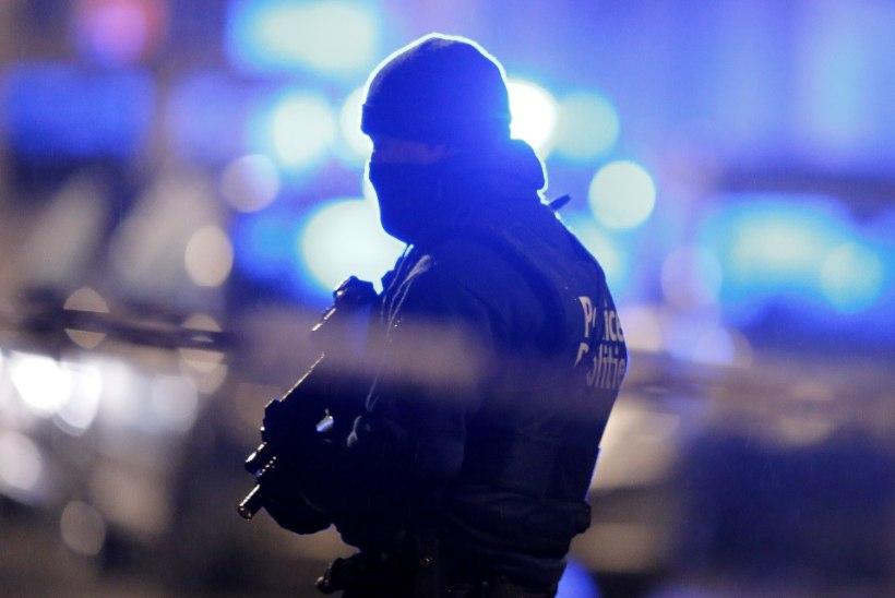 ÖÖ TÄIS VAHISTAMISI: Brüsselis vahistati haarangute käigus kuus inimest