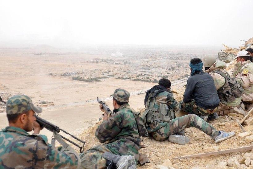Palmyra on ISIS-e käest tagasi võidetud