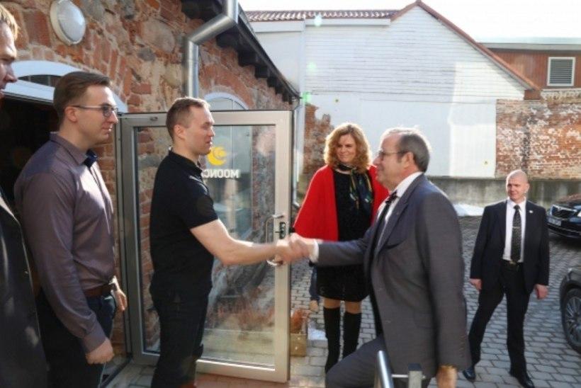GALERII | Presidendipaar külastas Tartut
