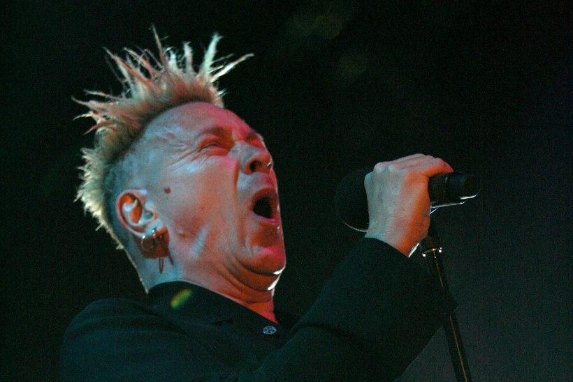 Sex Pistolsi legend Johnny Rotten on pimedaks jäämas