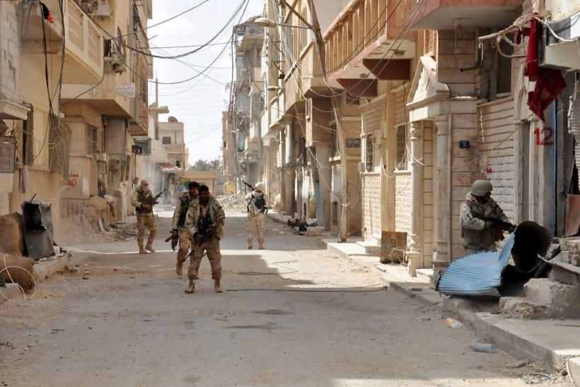 Süürias langes kümneid Vene võitlejaid