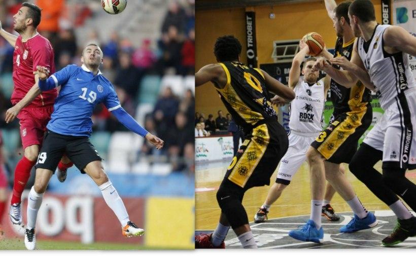 NII SEE JUHTUS | Tartu Rock võitis, Eesti jalgpallikoondis kaotas