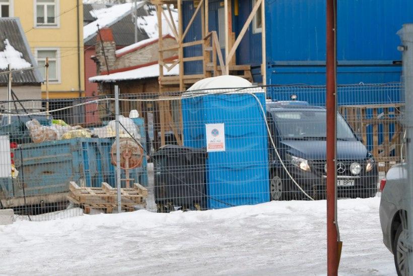 GALERII   Tallinnas kukkus ehitustööline surnuks