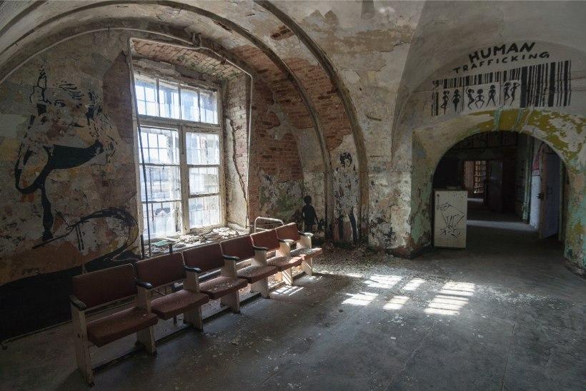 Patarei vangla on varemeisse vajumas