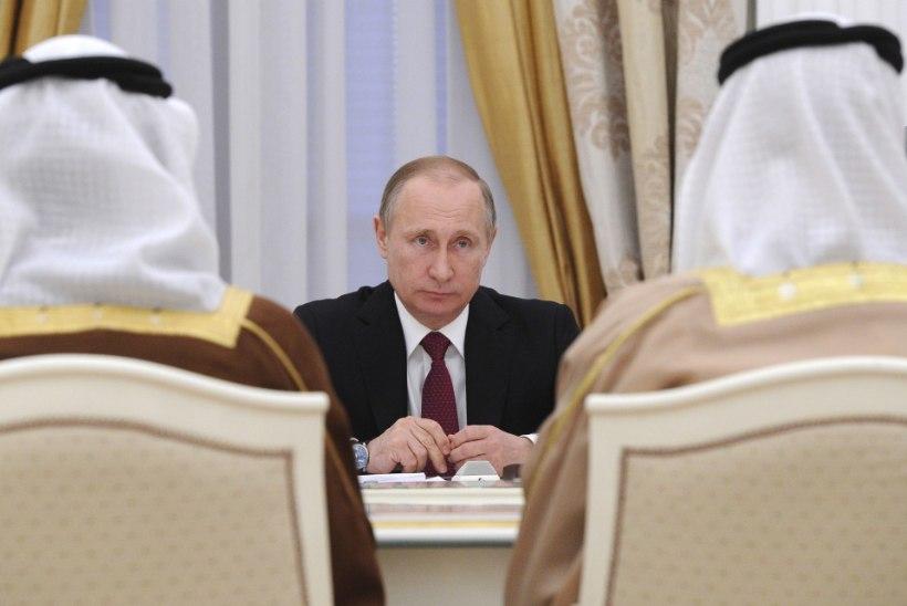 Vladimir Putin populaarsus püsib