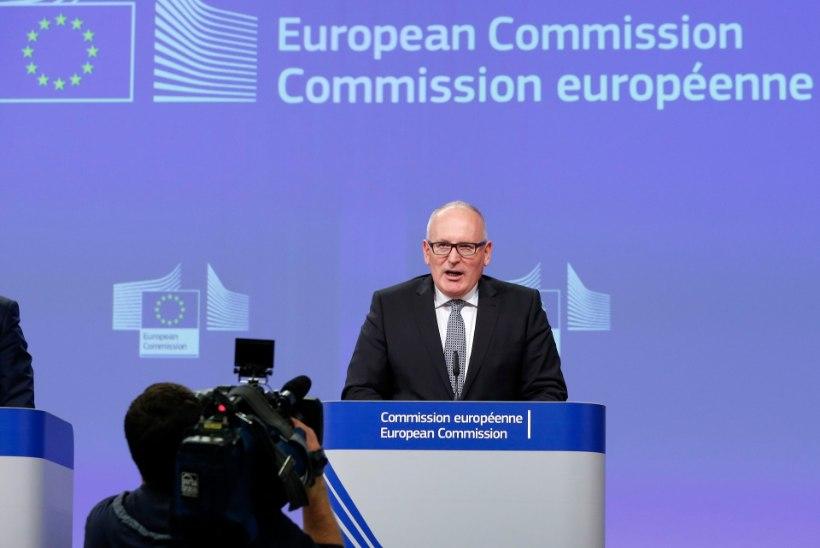 Eurokomisjon lubab Schengeni ruumi taastada