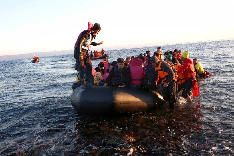 Meritsi on tänavu Euroopasse jõudnud 135 000 põgenikku