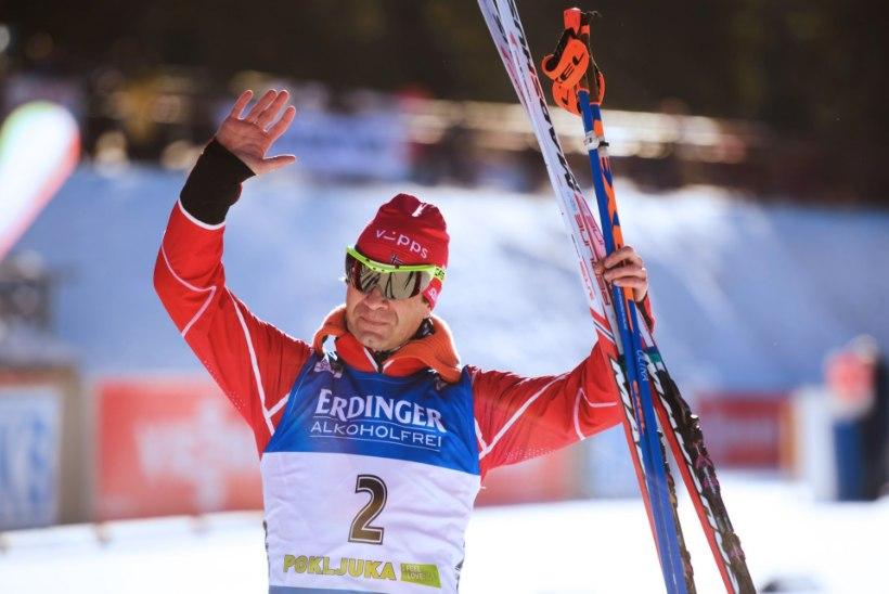 Väsimatu Björndalen võitis karjääri 41. MM-medali, kaks eestlast jälitussõidus