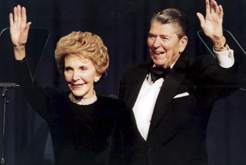 Suri USA endine presidendiproua Nancy Reagan