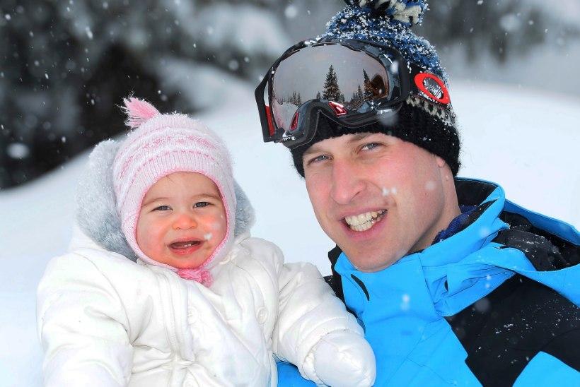 Vaata vahvaid pilte prints Williami pere ühisest talvepuhkusest!