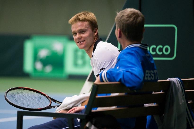 Tennisemeeskond Davis Cupil edukas