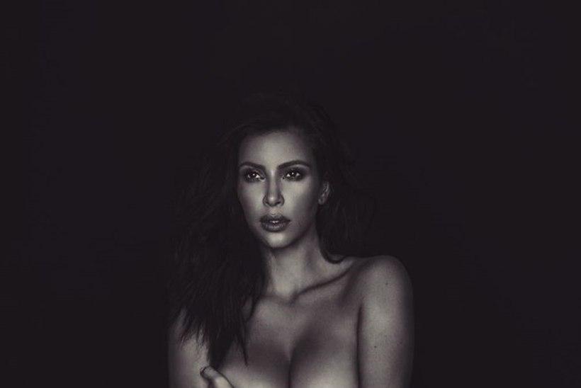 "Kim Kardashian postitas Instagrami aktifoto: ""Mul pole midagi selga panna."""