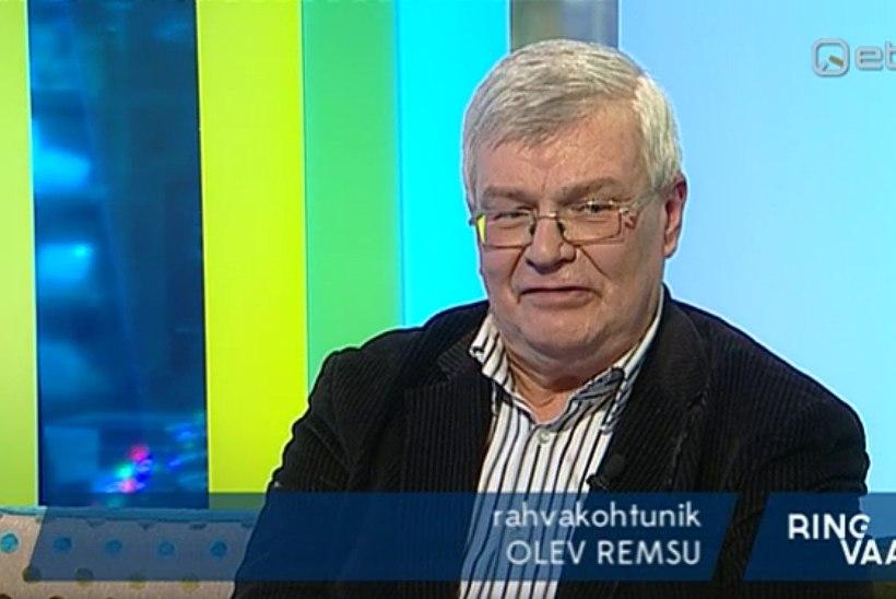 """""""Ringvaates"""" kohtupidamise aeglust sarjanud Olev Remsu sai kohtus punase kaardi"""