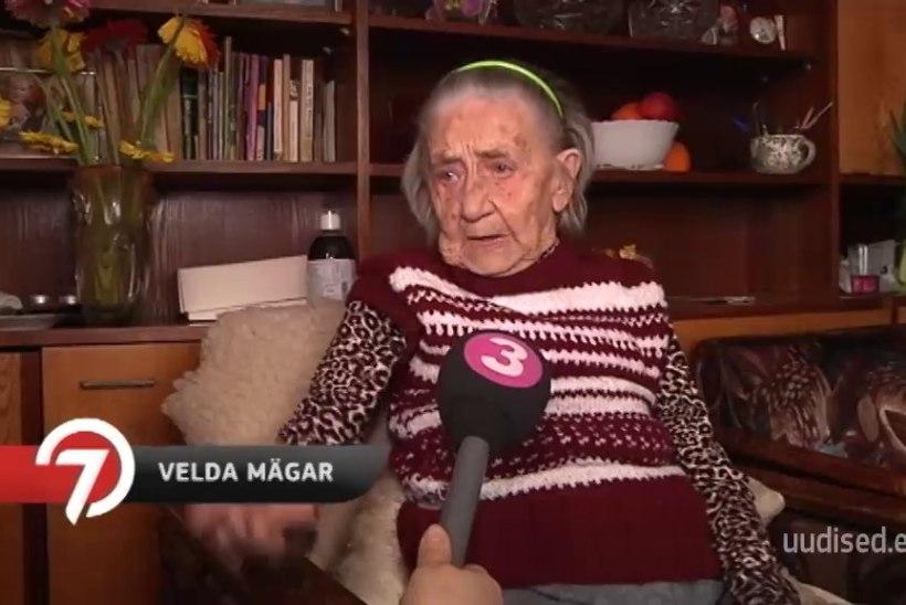 TV3 VIDEO  103-aastane Velda on ikka tragi ja rõõmus