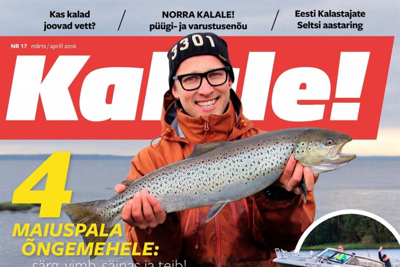 Ilmunud on ajakirja Kalale! värske number