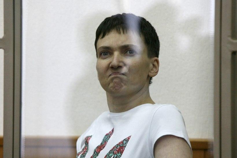 Savtšenko ütles emale: ma ei ela kohtuotsuse väljakuulutamiseni