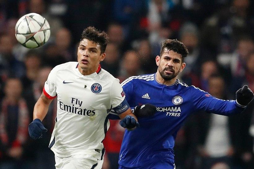 GALERII   PSG andis Chelseale lootust, kuid ilusa tähiseni jõudnud Zlatan tõmbas sellele vee peale