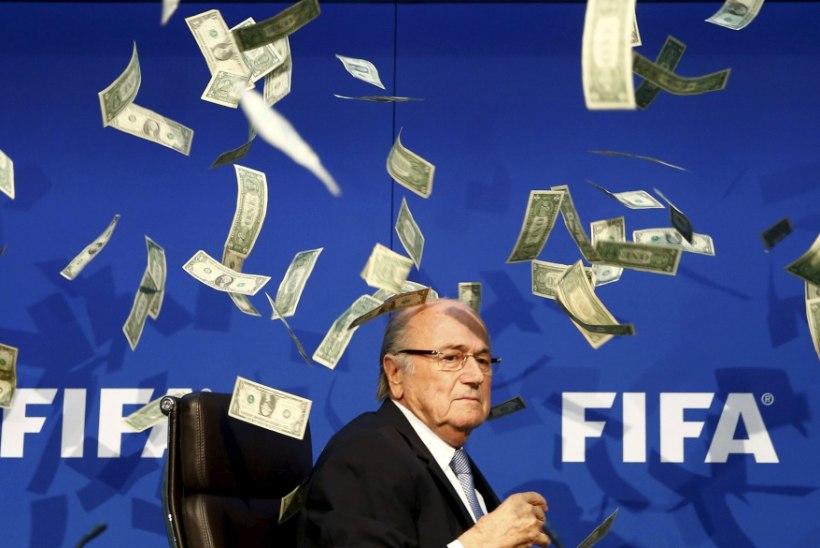 Blatteri süüasjas otsiti läbi Prantsusmaa jalgpalliliidu kontor