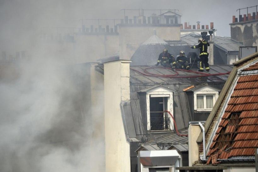 FOTOD | Gaasiplahvatus hävitas osa Pariisi kesklinna korrusmajast