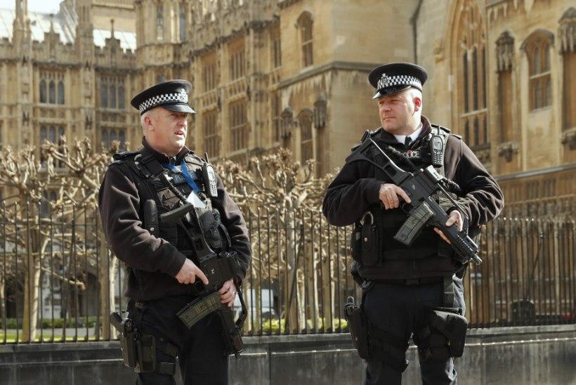 Terrorihirmus Inglismaa toob lisapolitseinikud tänavaile