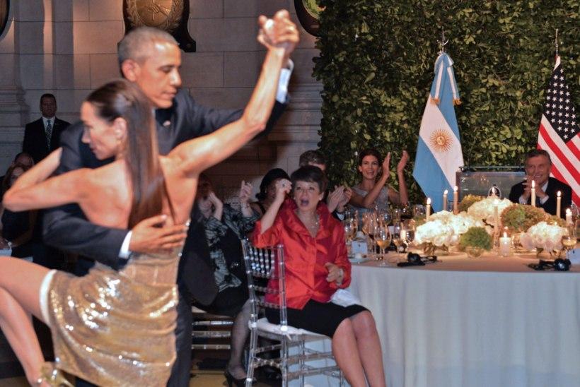 Tangoproff: keelati, aga võtsin ikka Obama tantsima