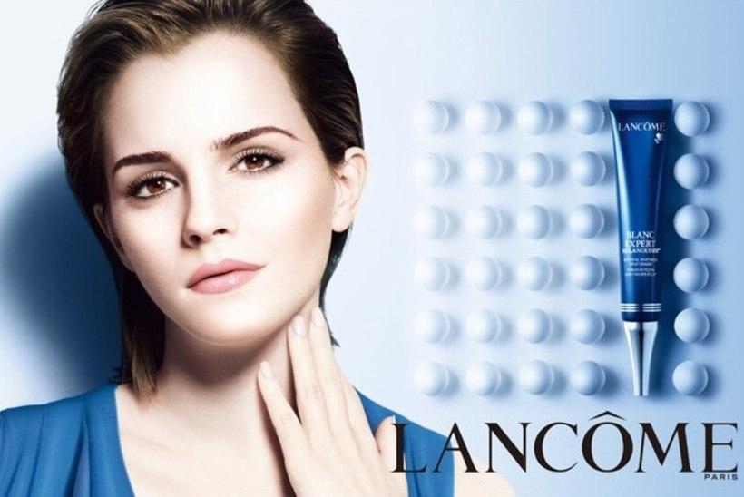 Emma Watsoni kreemireklaamist tuli paks pahandus