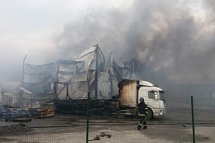Kas laohoone põlengusuits ohustas tartlasi