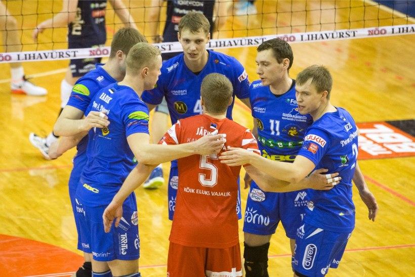 Pärnu võrkpallurid võitlesid end 0:2 kaotusseisust võidule