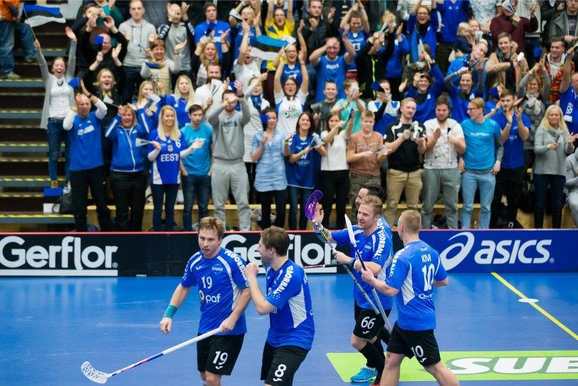 Eesti saalihokikoondis sai MMiks tohutult soodsa loosi