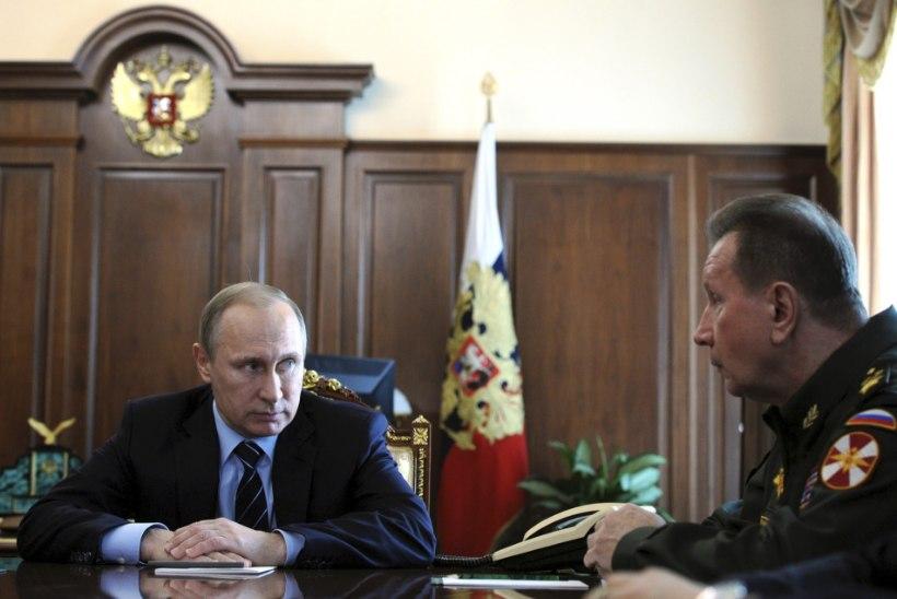 Putin asutab rahvuskaardi. Kas rahvarahutuste mahasurumiseks?