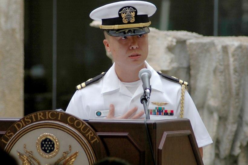 USA mereväeohvitser osutus Hiina spiooniks