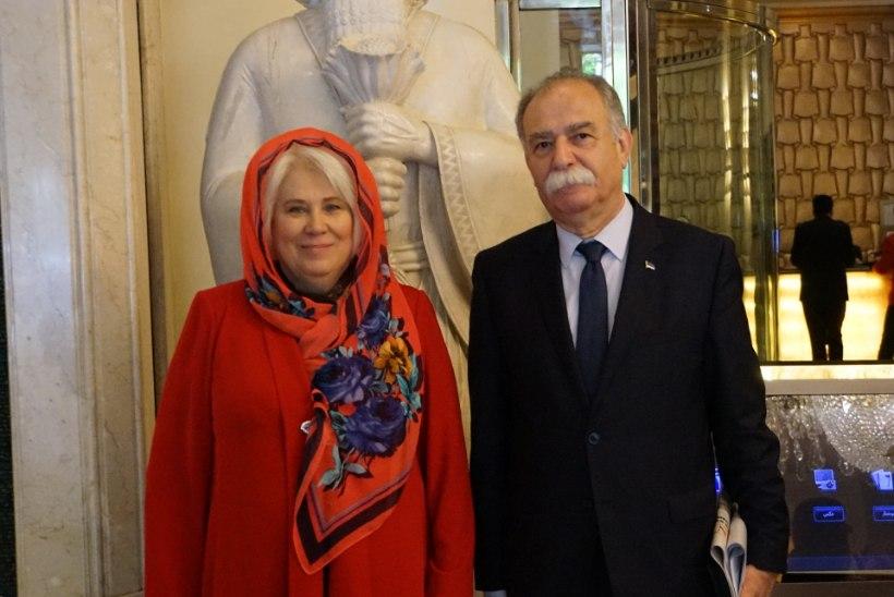 Marina Kaljurand vihastas Iraani naisõiguslased välja