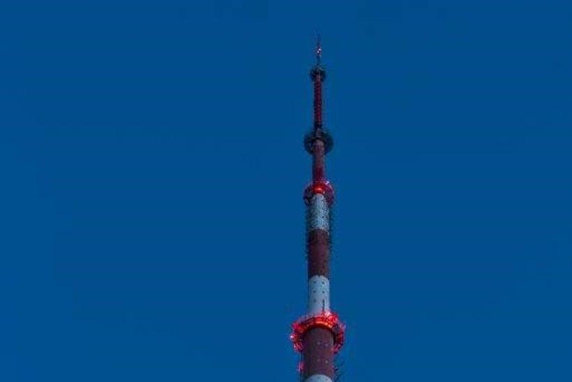 Teletorn värvub pühapäeval hemofiiliahaigete toetuseks punaseks