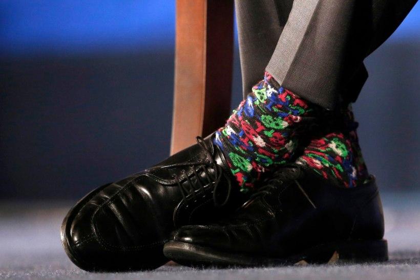 Tahad olla edukas? Kanna värvilisi sokke!