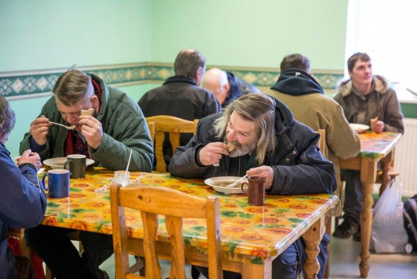 Abivajaja: Ei ole oluline, kus süüa saab. Oluline on, et üldse antakse!
