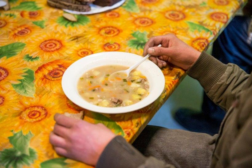 ÕHTULEHE VIDEO JA FOTOD | Päästearmee supiköögis nälga ei tunta