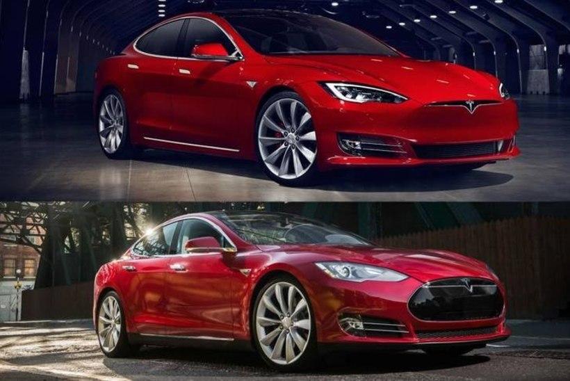 Tesla tuli välja Model S 2016-ga
