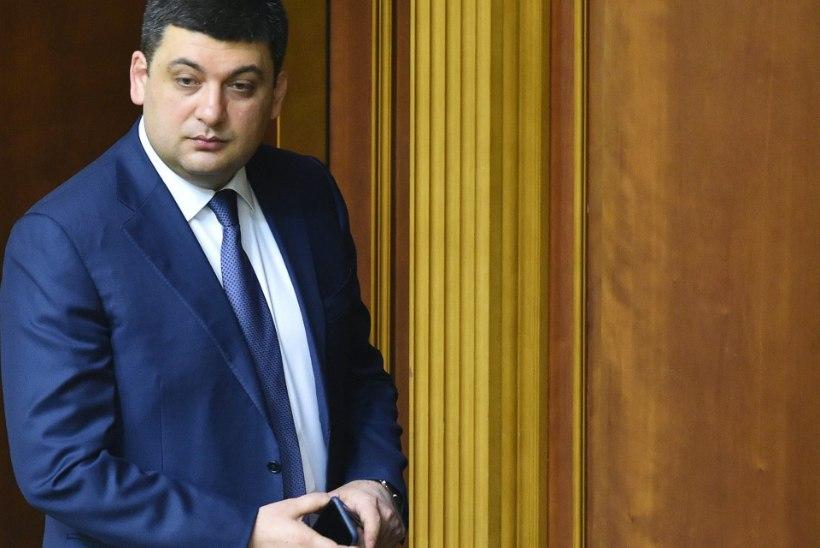Groisman andis nõusoleku juhtida Ukraina uut valitsust