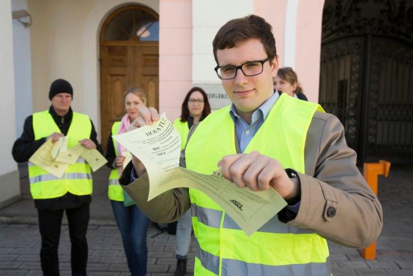 Trahvid ei tõuse – hääletusel jäi üks hääl puudu