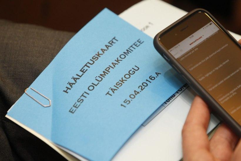 EOK presidendi otsustas üks hääl!
