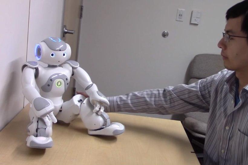 Roboti tagumiku patsutamine tekitab inimeses kelmikaid mõtteid