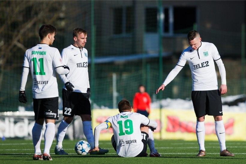 FC Flora kriis jätkub - tiitlikaitsja jäi viiendat mängu järjest võiduta