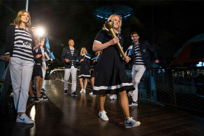 FOTOD | Eesti sportlased näevad Rios olümpiakollektsioonis välja sinised ja šikid!