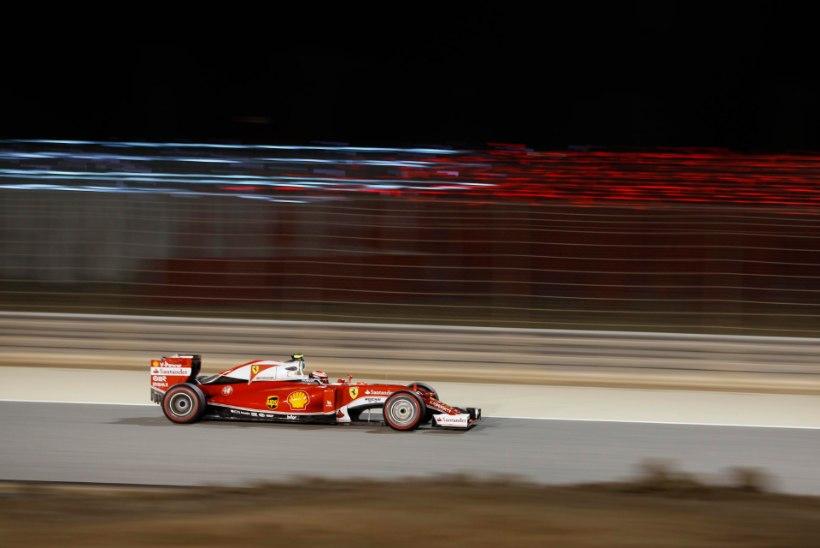 Ferrarid domineerisid viimast vabatreeningut