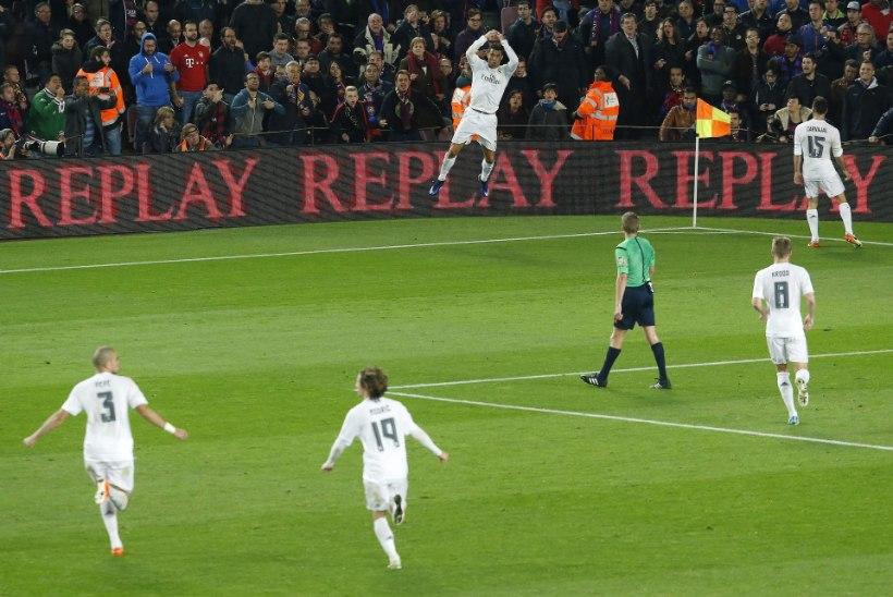 GALERII | Ronaldo pani Messi paika, Real lõpetas El Clasicol Barcelona seeria